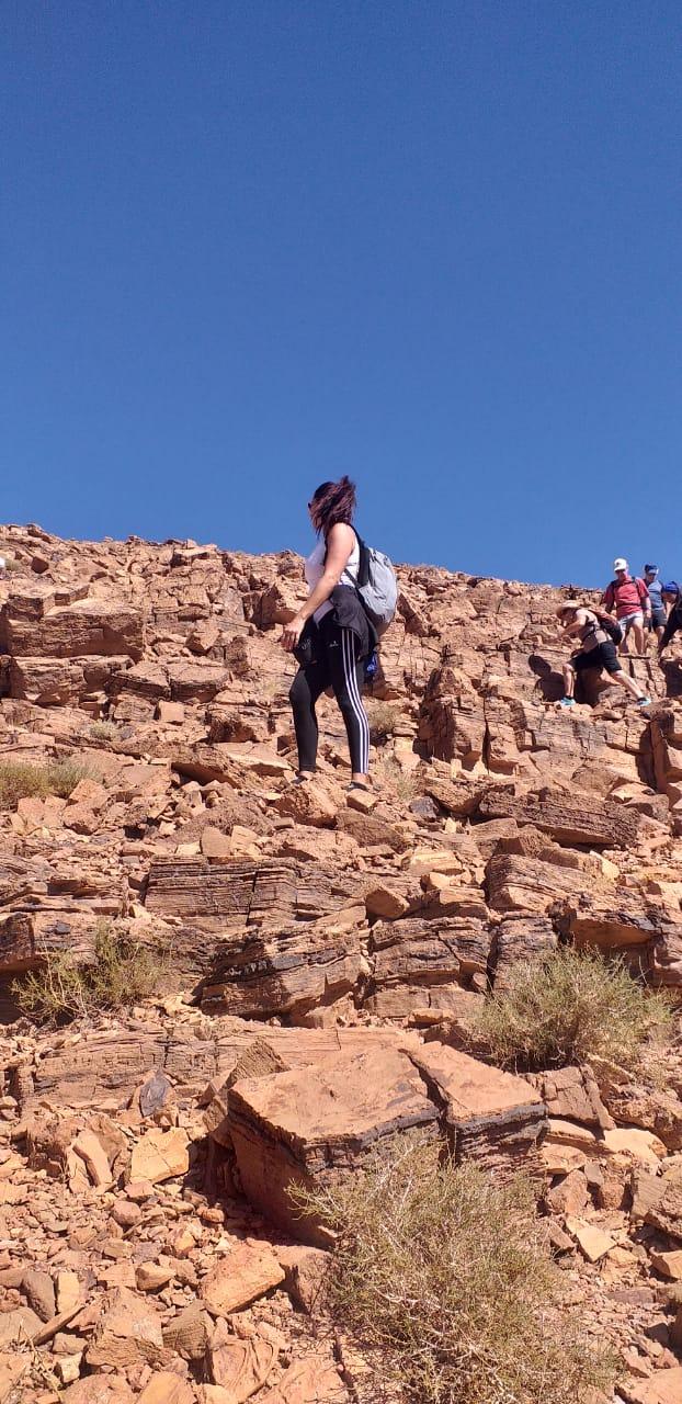 voyageurs en randonnée