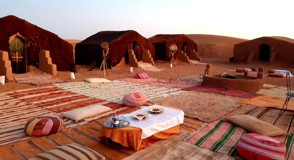 Illustration Sejours CtrekFusion au Maroc, bivouac dans le Sahara