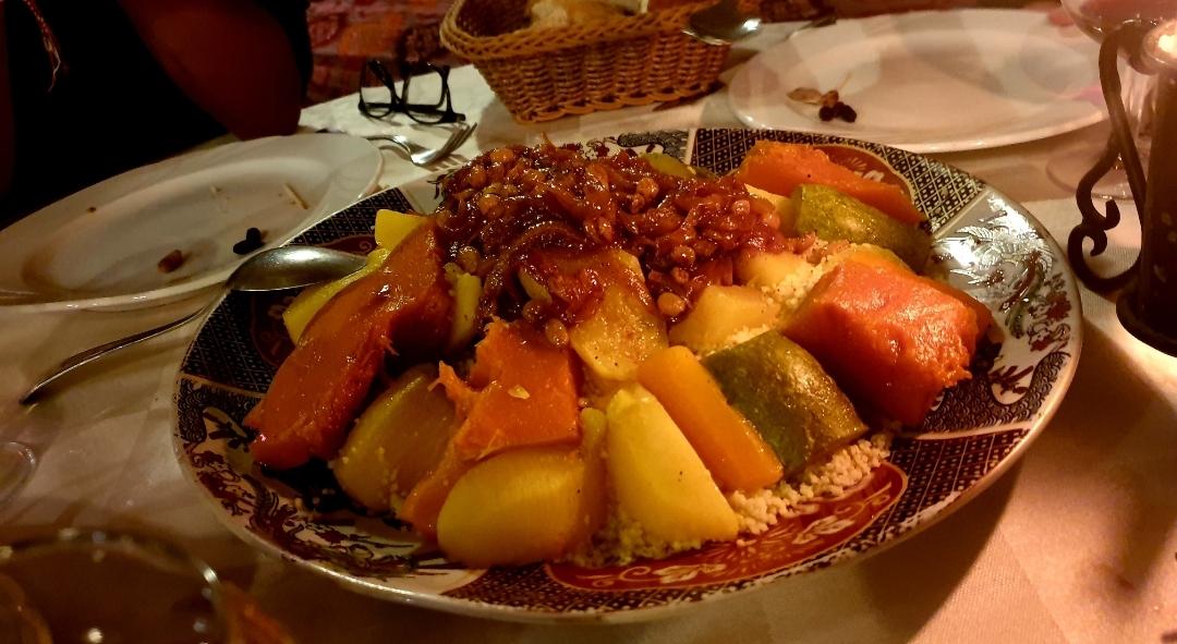 plat de couscous Marocain