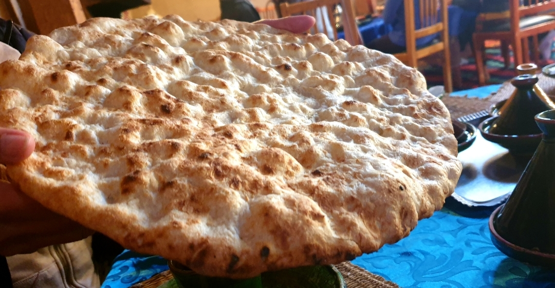 galette, pain Marocain traditionnel