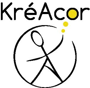 Logo de KréAcor entreprise web et communication