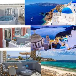 Photos de lieux de bien-être de Mykonos à Santorin